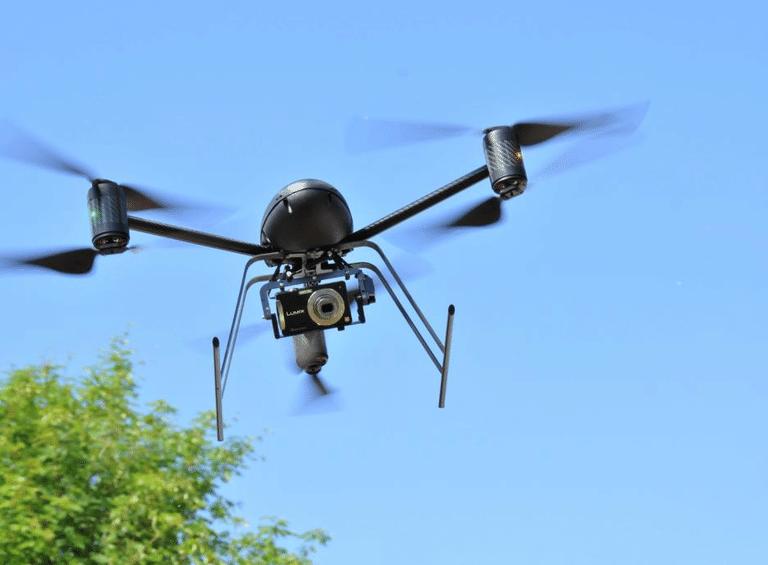 Draganflyer X6 VTOL UAS Image courtesy Draganfly Innovations Inc