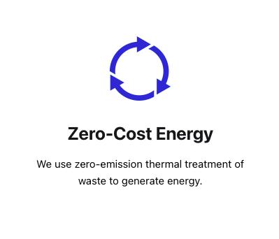 Zero Cost Energy